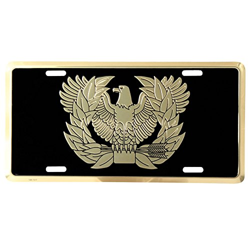 Honor Country Army Warrant Officer License Plate