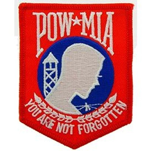 Eagle Emblems PM0117 Patch-Powmia (Red/WHT/Blu) (3.5 inch)