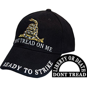Liberty or Death Don't Tread On Me Ball Cap