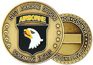 101st Airborne Division Challenge Coin