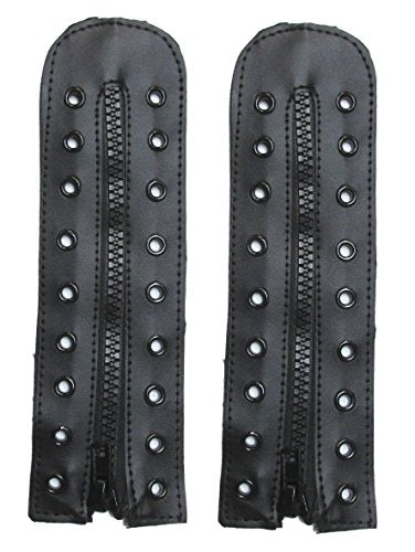 Military Uniform Supply 9 Hole Boot Zippers - PAIR