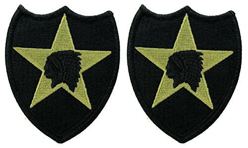 2nd Infantry Division OCP Patch - Scorpion W2 - 2 PACK