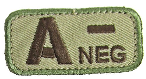 A NEGATIVE Blood Type Patch - MULTICAM OCP