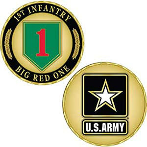 US Army 1st Infantry Division Challenge Coin