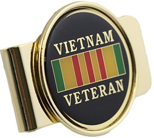 Vietnam Veteran Logo Money Clip