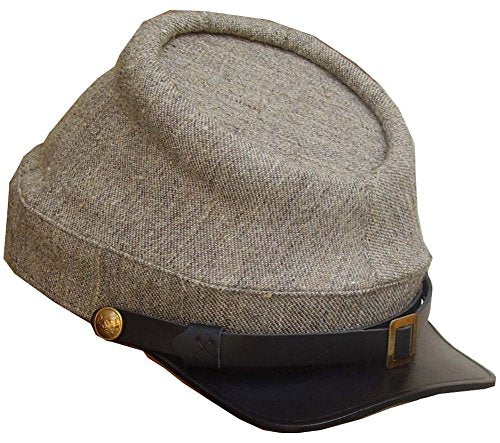 Military Uniform Supply Reproduction Civil War Kepi Cap - Jean Wool