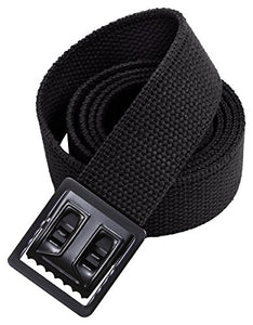 Rothco Web Belts with Black Open Face Buckle