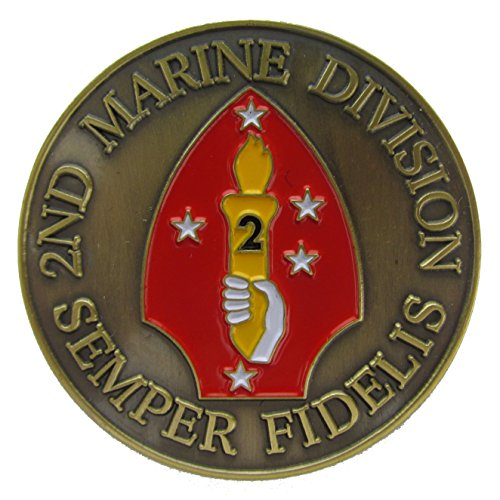 2nd Marine Division Challenge Coin