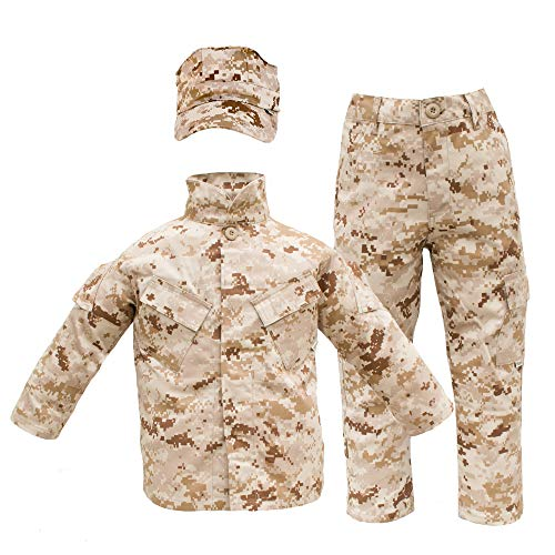 Kids USMC Uniform Desert Digital MARPAT 3 Piece Set