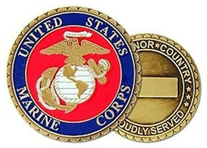 US Marines Challenge Coin