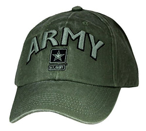 Eagle Crest U.S. Army With Logo Embroidered Cap. Green