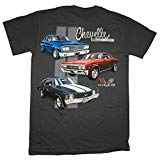 Chevrolet Chevelle Classic Car Lineup Automobile T-Shirt