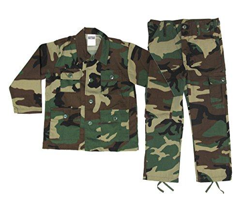 Kids Woodland BDU Uniform 2 Piece Set