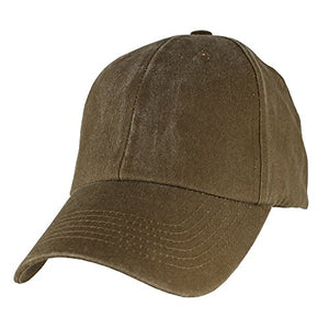 Blank Hat - Coyote Brown Washed Cap
