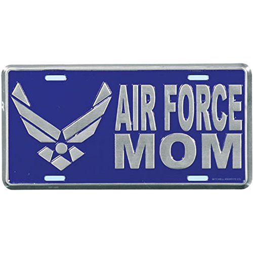 Honor Country Air Force MOM License Plate