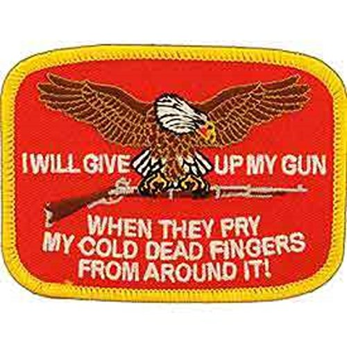 Eagle Emblems PM0220 Patch-Gun,I'LL Give up (3.75 inch)