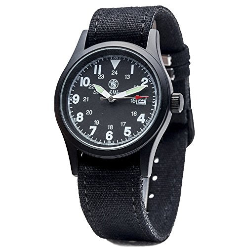 Smith & Wesson Black Military Watch