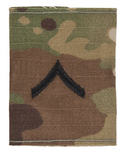 U.S. Army OCP RANK Insignia for Enlisted W2 Scorpion - GORE-TEX LOOP