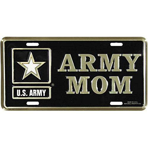 Honor Country Army Mom License Plate