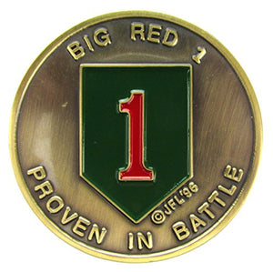 1st Infantry Division Challenge Coin