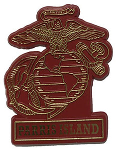 Marine Corps Eagle Globe & Anchor Parris Island Magnet