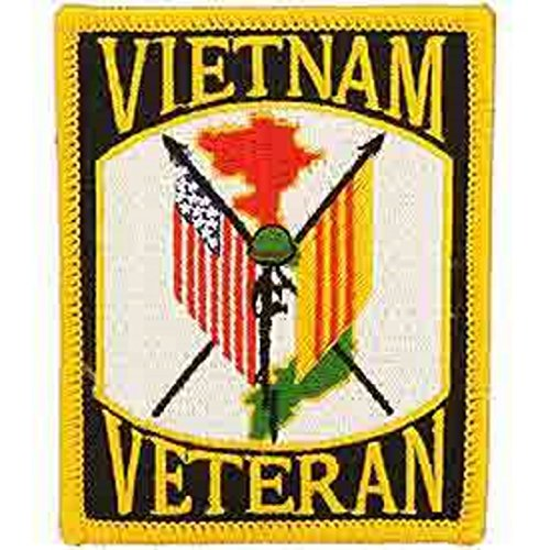Eagle Emblems PM0014 Patch-Vietnam,Veteran (3.5 inch)