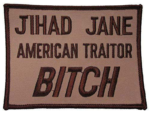 Jihad Jane American Traitor Patch