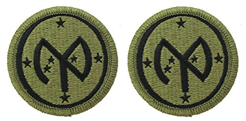 27th Infantry Division OCP Patch - Scorpion W2 - 2 PACK
