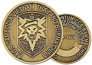 Military Assistance Command, Vietnam- Studies and Observations Group (MACV-SOG) Challenge Coin (HMC 22345)