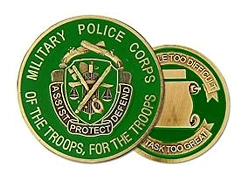 Military Police Corps Challenge Coin