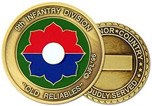 9th Infantry Division Challenge Coin