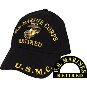 United States Once a Marine Always a Marine Retired Hat Cap