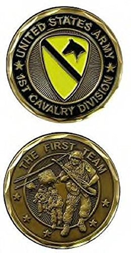 1st Cavalry Division Challange Coin