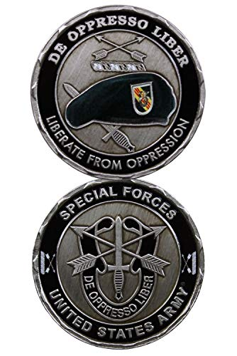 U.S. ARMY SPECIAL FORCES Challenge Coin-Eagle Crest