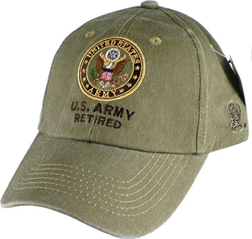 U.S. Army Retired Cap. Khaki