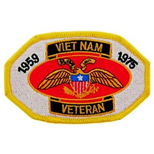 Eagle Emblems PM0021 Patch-Vietnam,Veteran, 1959-75 (3.5 inch)