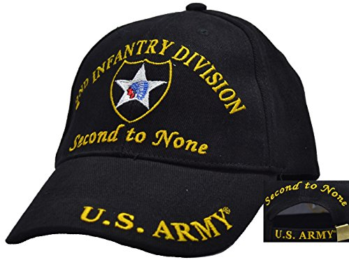 2nd Infantry Division Embroidered Ball Cap