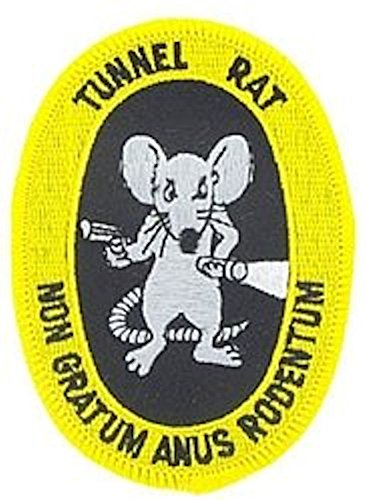 Tunnel Rat Small Patch
