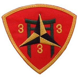 Eagle Emblems PM0266 Patch-USMC,03RD BN 3RD (3 inch)