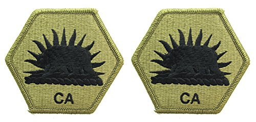California State Military Reserve OCP Patch - Scorpion W2 - 2 PACK