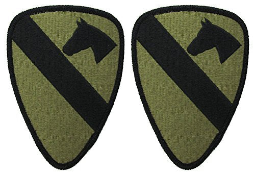 1st Cavalry Division OCP Patch - Scorpion W2 - 2 PACK