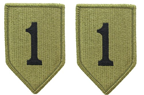 1st Infantry Division OCP Patch - Scorpion W2 - 2 PACK