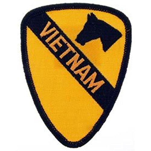 Eagle Emblems PM0011 Patch-Vietnam,001ST Cav. 3 inch
