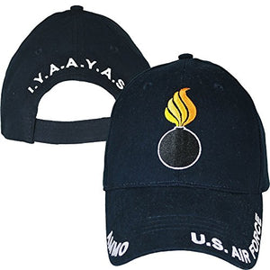 Eagle Crest U.S. Air Force Ammo I.Y.A.A.Y.A.S. Baseball Cap Navy Blue