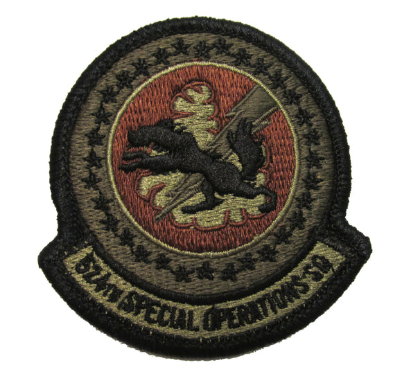 524th Special Operations Squadron OCP Patch - Spice Brown