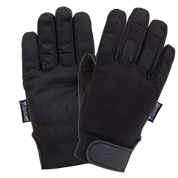Rothco Cold Weather All Purpose Duty Gloves - BLACK