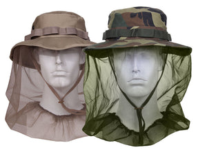 Rothco Boonie Hat With Mosquito Netting - Various Colors