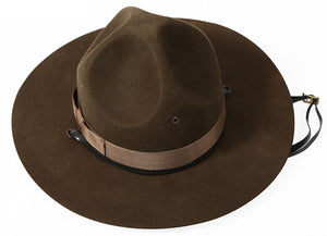 Military Campaign Hat - Drill Sergeant Hat