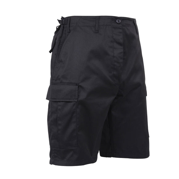 Rothco Zipper Fly BDU Combat Shorts Black