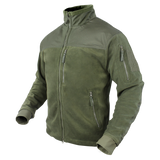 Condor Alpha Fleece Jacket Olive Drab